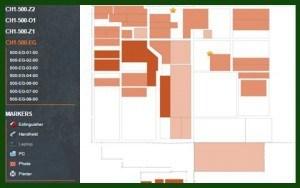 custom indoor map