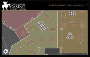 Interactive Casino Maps